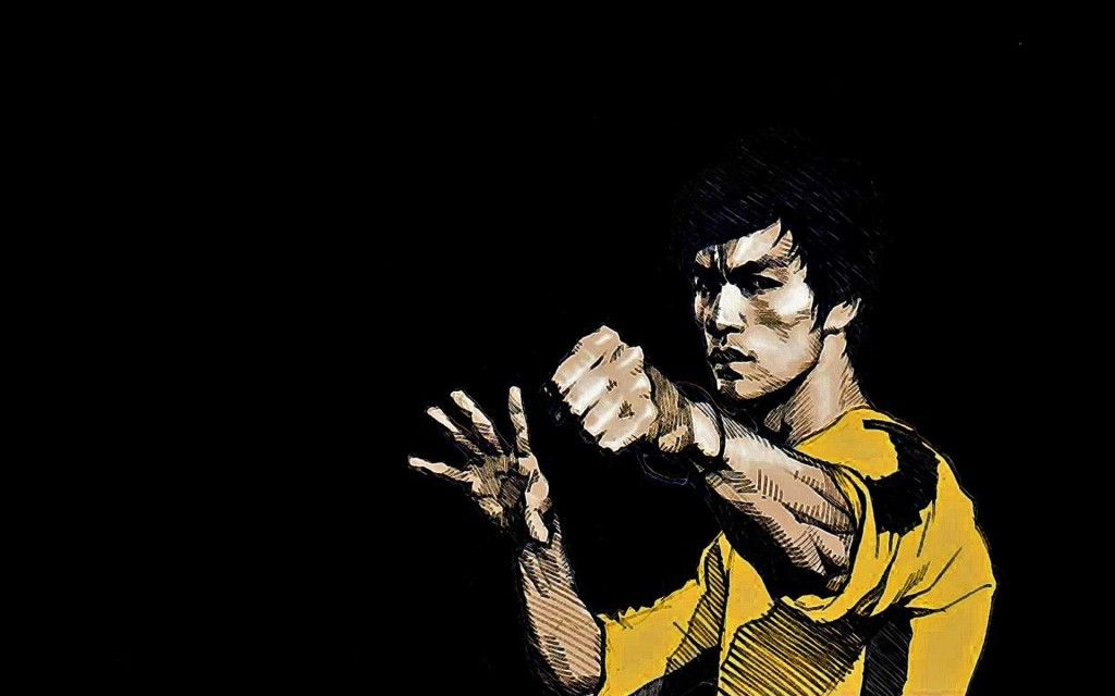 Martial-Artist-Bruce-Lee