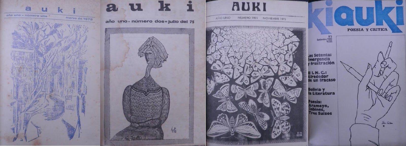 revista auki n1,2,3 y 5