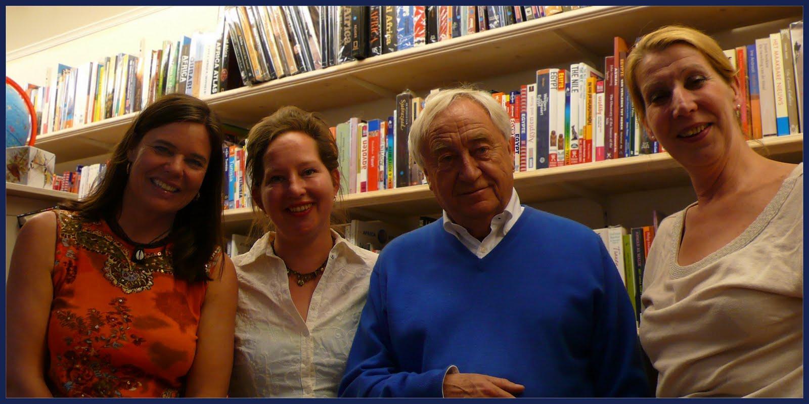 Bernice Notenboom, Nasja Berg reisboekhandel Stanley & Livingstone, Cees Nooteboom, Ank Szlapka Reisboekhandel Pied a Terre