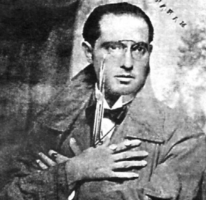 El intelectual, periodista y literato Abraham Valdelomar.