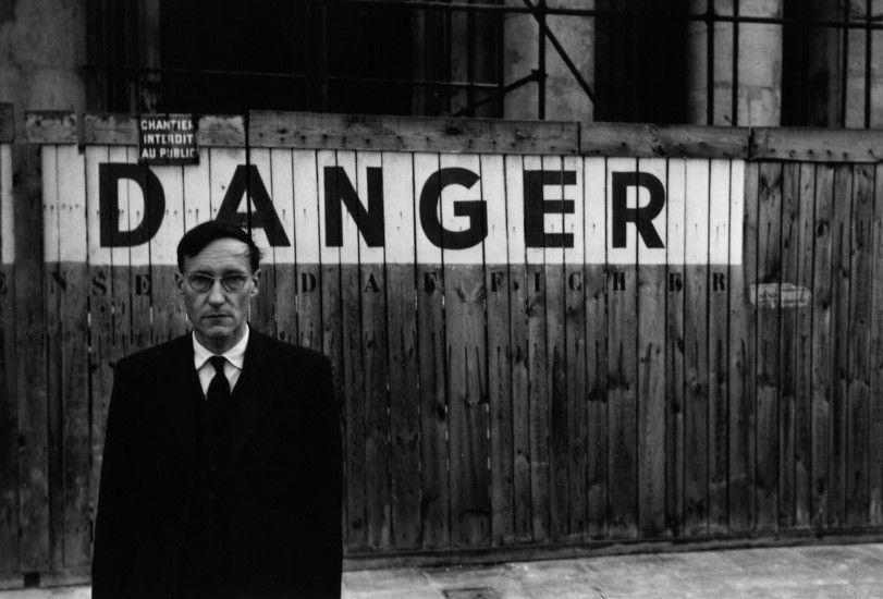 El escritor beat William Burroughs.