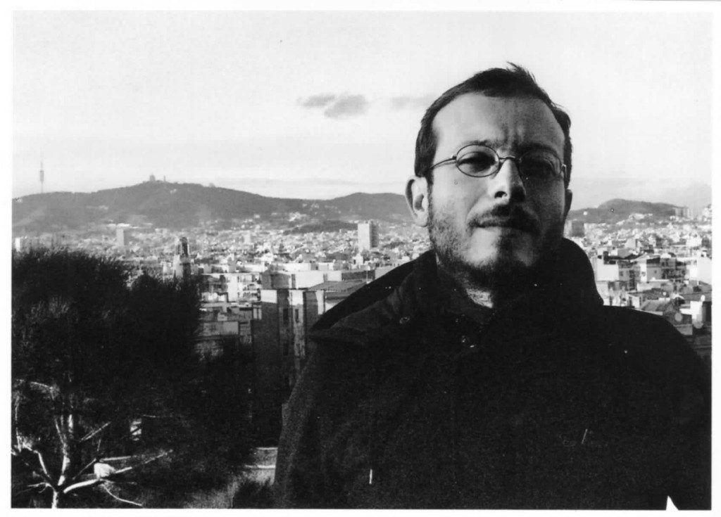 El poeta Alberto Pellegatta. Crédito de la foto F. Maestro