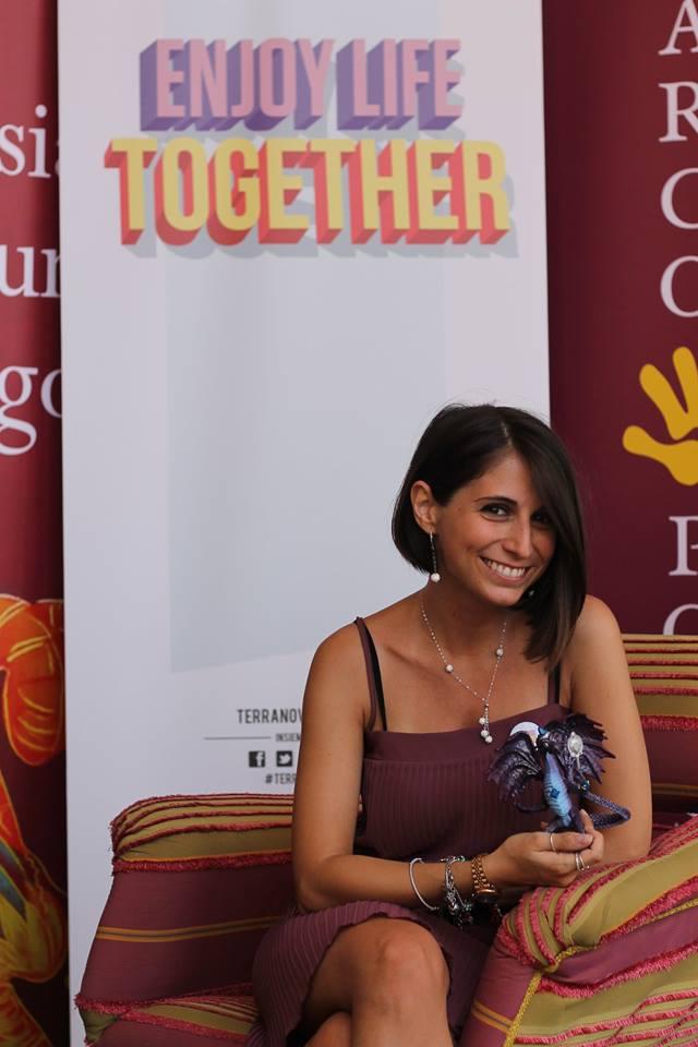 La poeta Eleonora Rimolo. Foto Parcopoesia