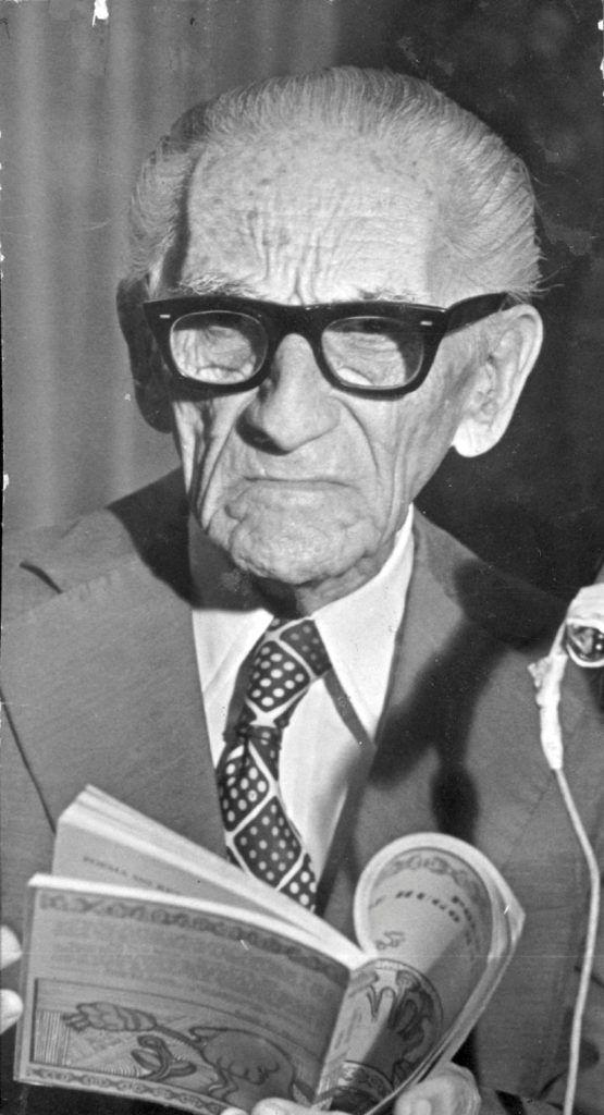 El poeta Hugo Mayo