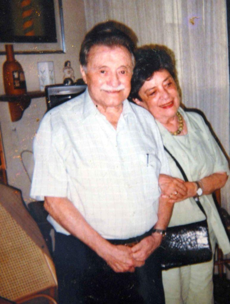 Reunión de poetas. Claribel Alegría y Mario Benedetti. Managua, 2010. Crédito de la foto: LA PRENSA/Bismarck Picado.