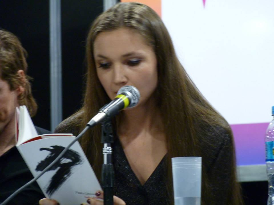 La poeta Natalia Litvinova