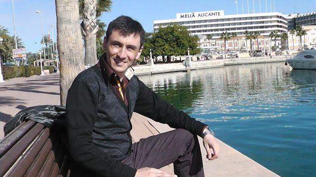El poeta Claudio Archubi